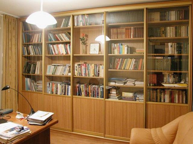 Закажите книжный шкаф купе. секреты порядка и уюта в вашем д.